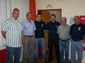17.8.2006: Der Chor besucht die Feuerwehr