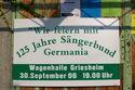 125 Jahre Sängerbund-Germania - Geburtstagsfeier in der Wagenhalle