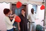7.7.2007: Hochzeit von Olivier und Marianne Mawanzi