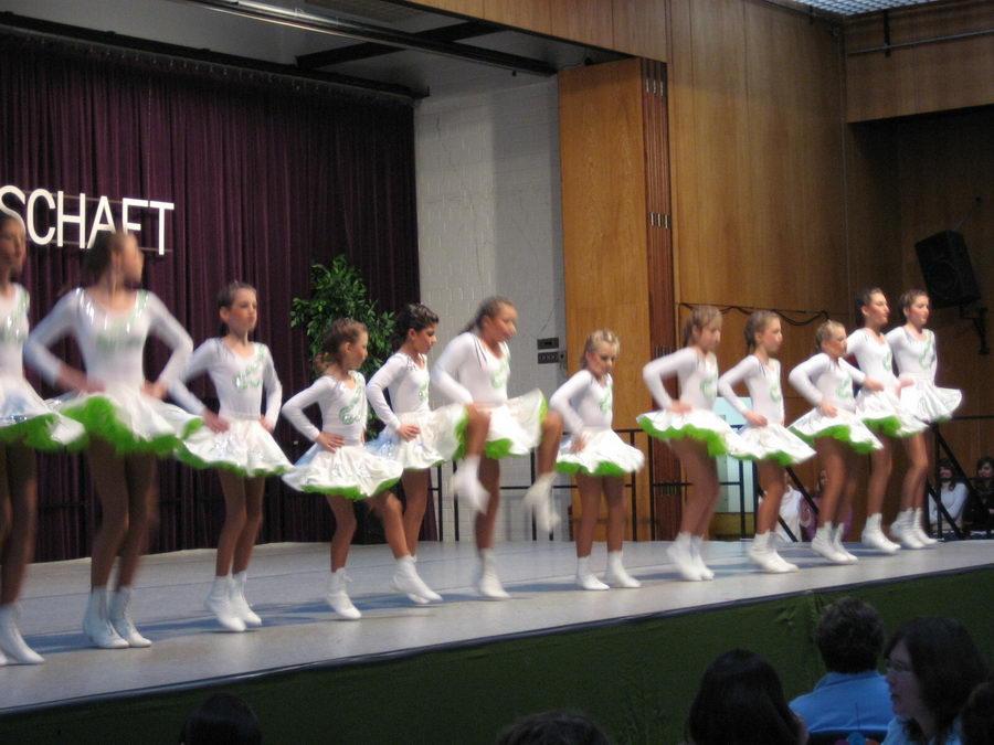 11.11.2007: Auftritt der Hot Flames bei der TSG Rossdorf