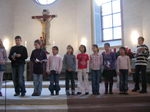 1. Advent 2007: Germania - Young Generation im Kindergottesdienst der Lutherkirche