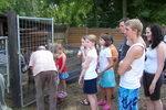 31.7.2008: Mensch + Tier Begegnung bei Werner Wolf