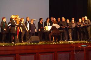 Der Gemischte Chor bei seinem Auftritt
